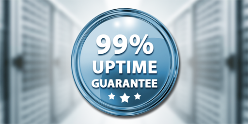 99% Uptime Guaranteed
